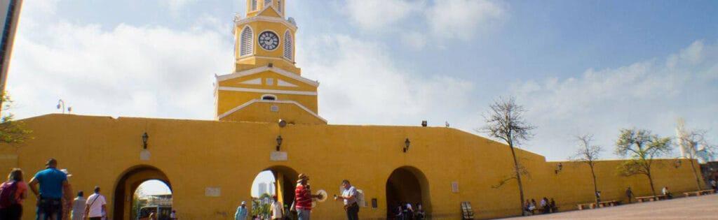 LA-TORRE-DEL-RELOJ- Hotel Almirante Cartagena