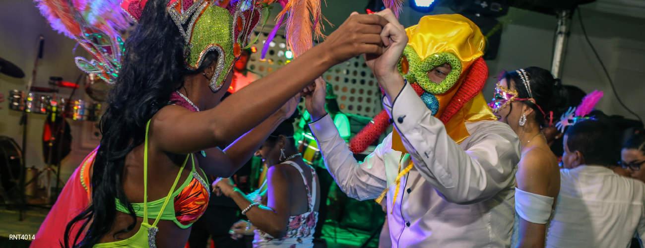 Disfruta el caribe colombiano en el Carnaval de Barranquilla