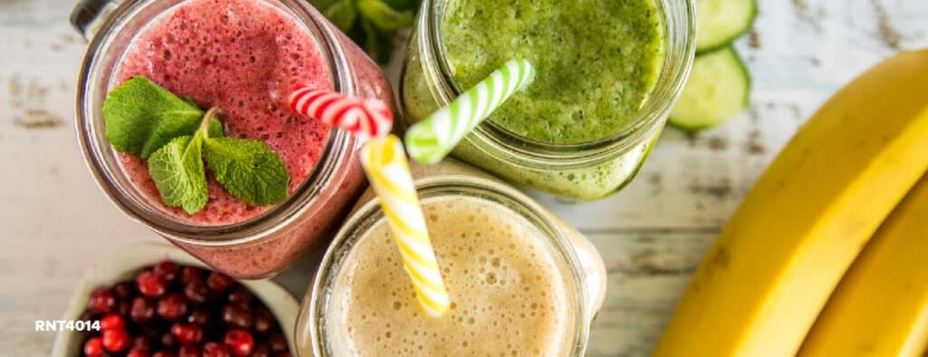 Prepare delicious healthy smoothies at home in minutes! - Hotel Almirante Cartagena