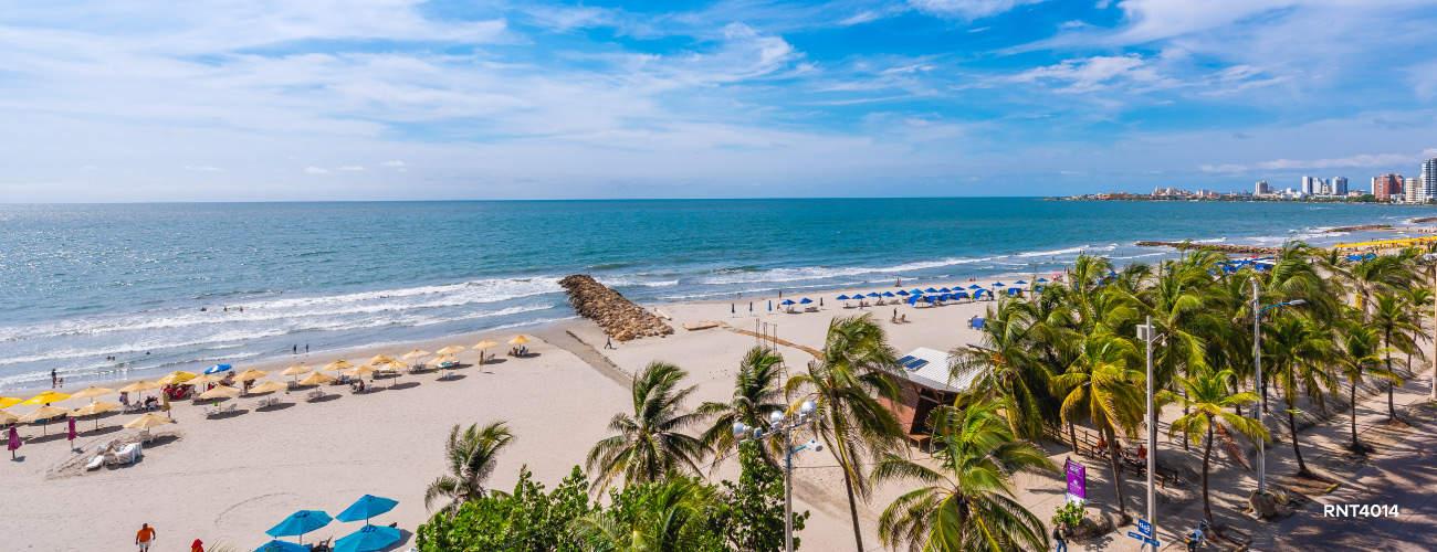 Playas de Bocagrande en Cartagena