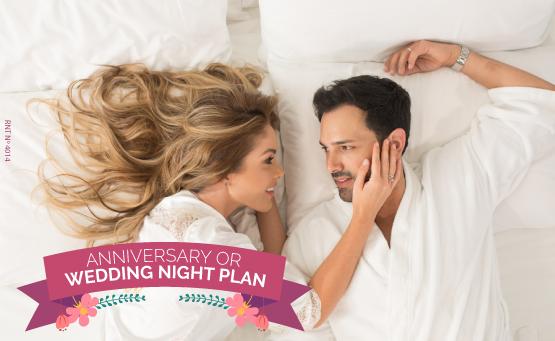 Anniversary or wedding night Plan - Almirante Cartagena Hotel