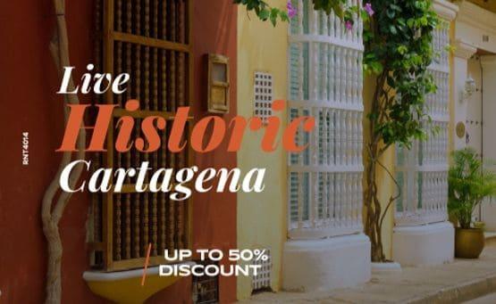Live historic Cartagena - Almirante Cartagena Hotel