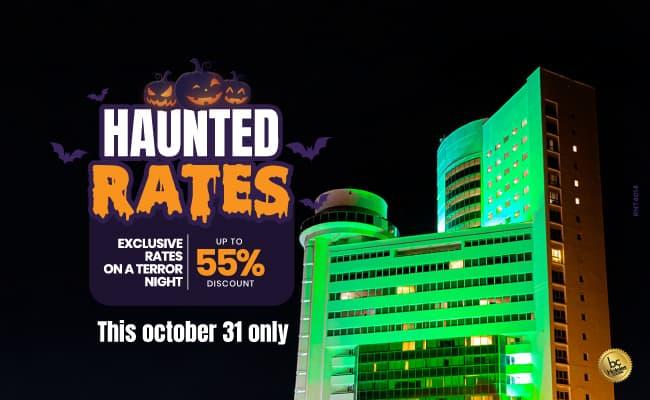 Haunted Rates- Almirante Cartagena Hotel
