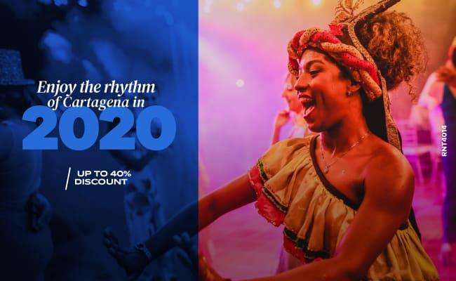 Enjoy the rhythm of Cartagena in 2020
