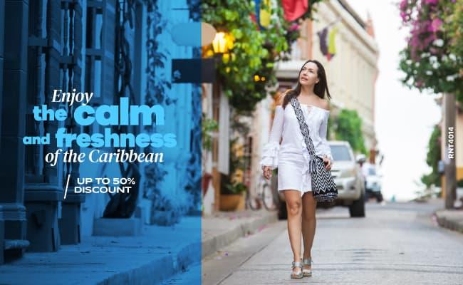 Enjoy the calm and freshness of the Caribbean - Almirante Cartagena Hotel
