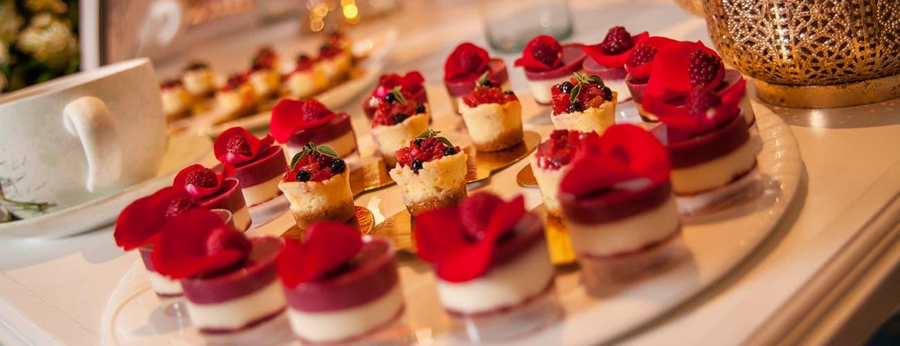 El menú ideal para tu boda- Hotel Almirante Cartagena