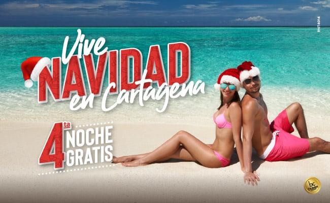 Vive una navidad en Cartagena- Hotel Almirante Cartagena