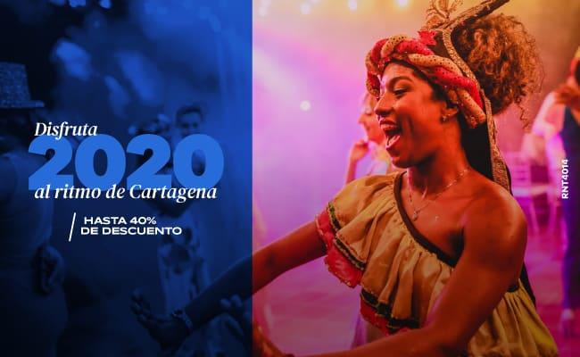 Disfruta el 2020 al ritmo de Cartagena - Hotel Almirante Cartagena
