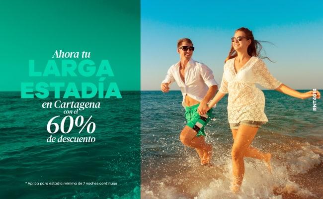 Larga Estadía con el 60% de descuento - Hotel Almirante Cartagena