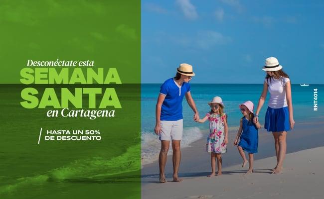 Desconéctate esta Semana Santa en Cartagena - Hotel Almirante Cartagena