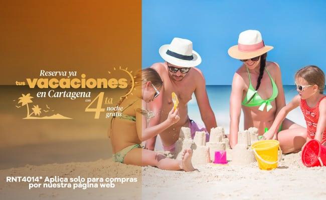 Anticípate de 15 a 60 días y obtén hasta el 35% de descuento - Hotel Almirante Cartagena