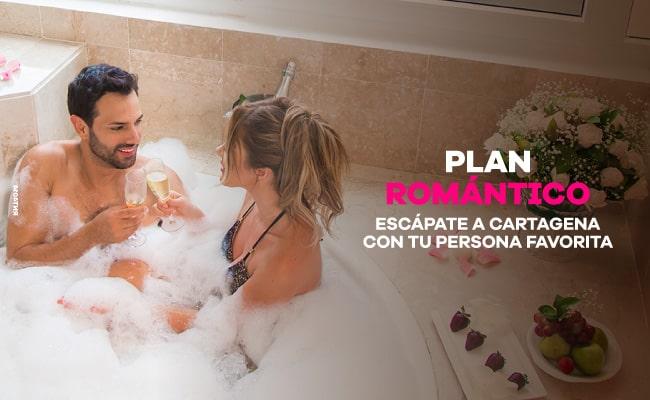 Plan Romántico - HOTEL ALMIRANTE CARTAGENA
