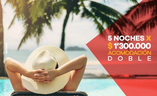 Paquete 5 noches - Hotel Almirante Cartagena